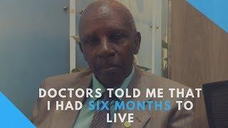 CANCER WARRIOR: I throttled throat cancer - VIDEO