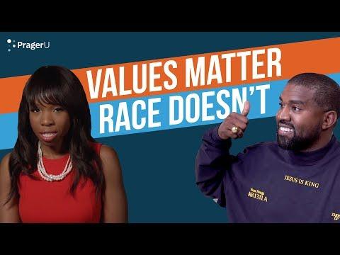 Values Matter. Race Doesn't.