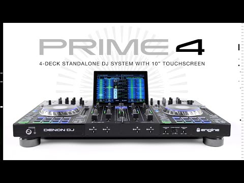 Denon Prime 4 - 4 Deck Engine DJ controller