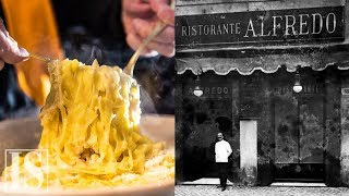 Fettuccine Alfredo: la ricetta originale del Ristorante Alfredo alla Scrofa