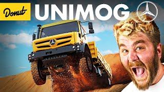 UNIMOG: The Massive Mercedes Truck You've Never Heard Of   Up To Speed