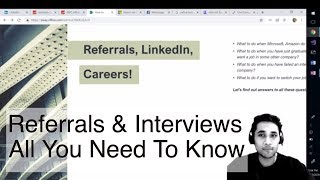 The Biggest Secret to Job Referrals and Internships | How to get Referrals?