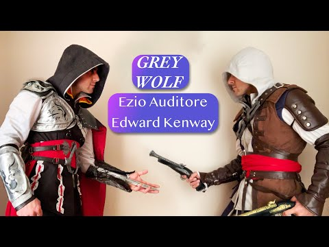 coleccion ASSASSINS CREED parte 1 cosplay ezio edward kenway cosplay magic