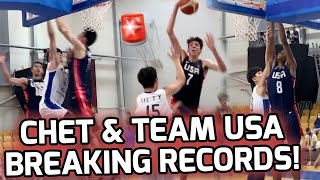 Chet Holmgren & Team USA Break Program Record For MOST POINTS SCORED! Win Round Of 16 By 72 POINTS 😱
