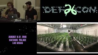DEF CON 26 CANNABIS VILLAGE - Adrian and Alex - An Overview of Hydroponic Grow Techniques