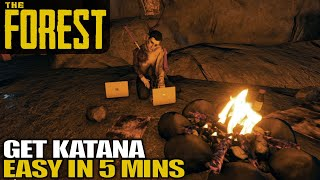 Katana Location Super Easy | The Forest Gameplay | E05