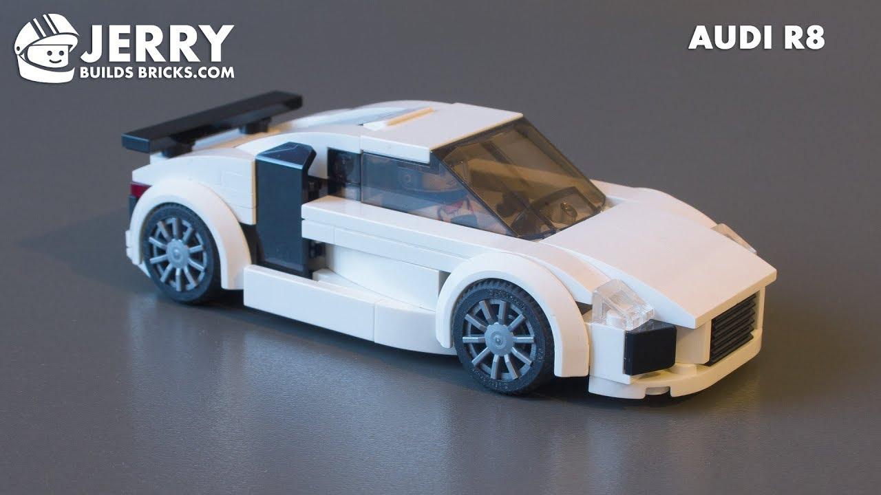 LEGO Audi R8 instructions (MOC #96)