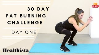 30 Day Fat Burning Home Workout Challenge | Day One