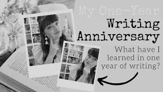 REACTING TO MY WRITING VIDEOS || One-Year of Writing Anniversary || Jenna Van Mourik