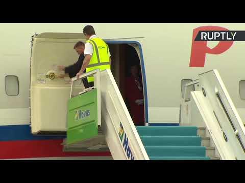 Putin arrives at Esenboga Airport in Ankara for Syria summit