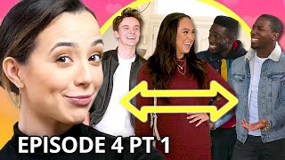 6 Boys Give Me a Makeover *Style Swap | Twin My Heart w/ The Merrell Twins Season 2 EP 4 Pt 1