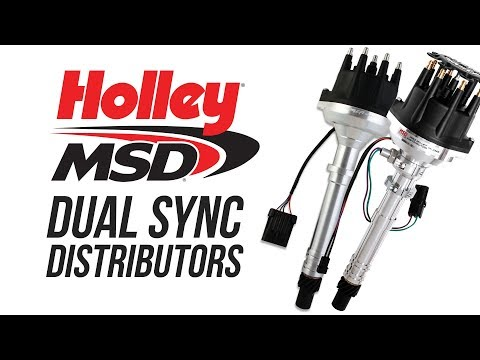 Holley and MSD Dual Sync Distributors