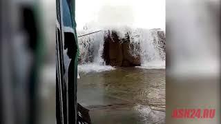 Амурчане рассылают видео якобы повреждения Нижне-Бурейской ГЭС