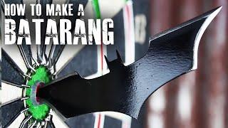 How to make a Batarang like