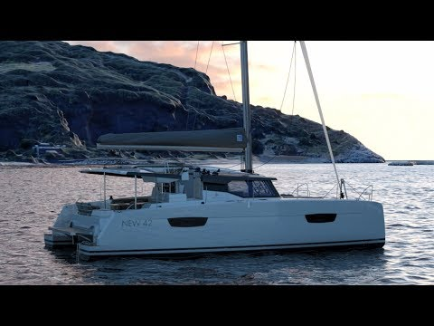 Fountaine Pajot Astrea 42 JULY 2020 DELVIERY video