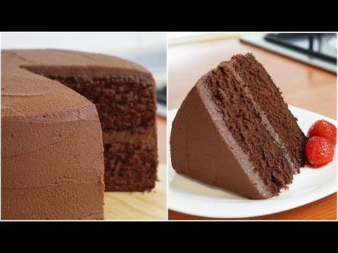 Video Rich and Moist Chocolate Cake Recipe