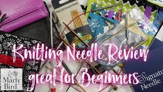 Yarn Thing Podcast With Marly Bird: Knitting Needle Review / Great For Beginners