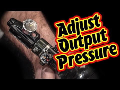 How to Adjust the Pressure of Ninja Paintball Tank Pro V2 | Lone Wolf Paintball