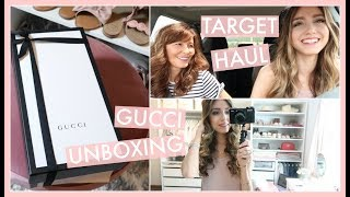 DAY IN THE LIFE VLOG: GUCCI SHOES UNBOXING, TARGET HAUL, & IRON INFUSION