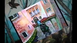 preview picture of video 'lezione come dipingere con i colori ad Olio'