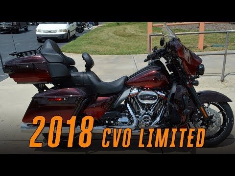 2018 Harley-Davidson CVO Limited FLHTKSE 117ci Burgundy Cherry Sunglo Fade