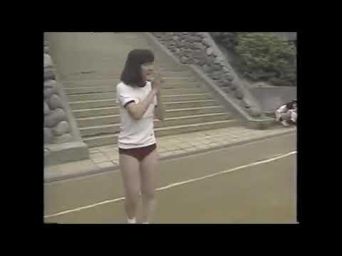 今ではありえない。昭和の女子中学生。体育大会運動会体育祭