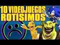 Top 10 Los Videojuegos M s Rotos De La Historia bugs Y