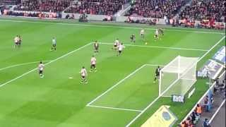 Goal de Messi! 12-1-2012 Athletic de Bilbao vs Barcelona FC
