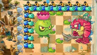Plants vs Zombies 2 - Bowling Bulb and Homing Thistle