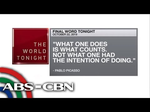 [ABS-CBN]  Final Word – October 22, 2019 | ANC