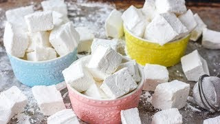 HOW TO MAKE MARSHMALLOWS | Homemade Marshmallows