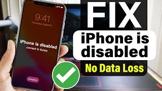 How to Remove Forgotten Passcode of ANY iPhone - XS/XR/X/8/7/6 (NO DATA LOSS) FIX iPhone is Disabled