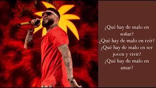 Qué Hay De Malo (Reggae Version) - Farruko - (Lyrics)