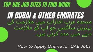 Top 10 Most Online Jobs Portal Websites In Dubai, UAE – 2018