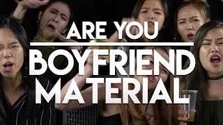 Valentine's day Special - Are You Boyfriend Material?