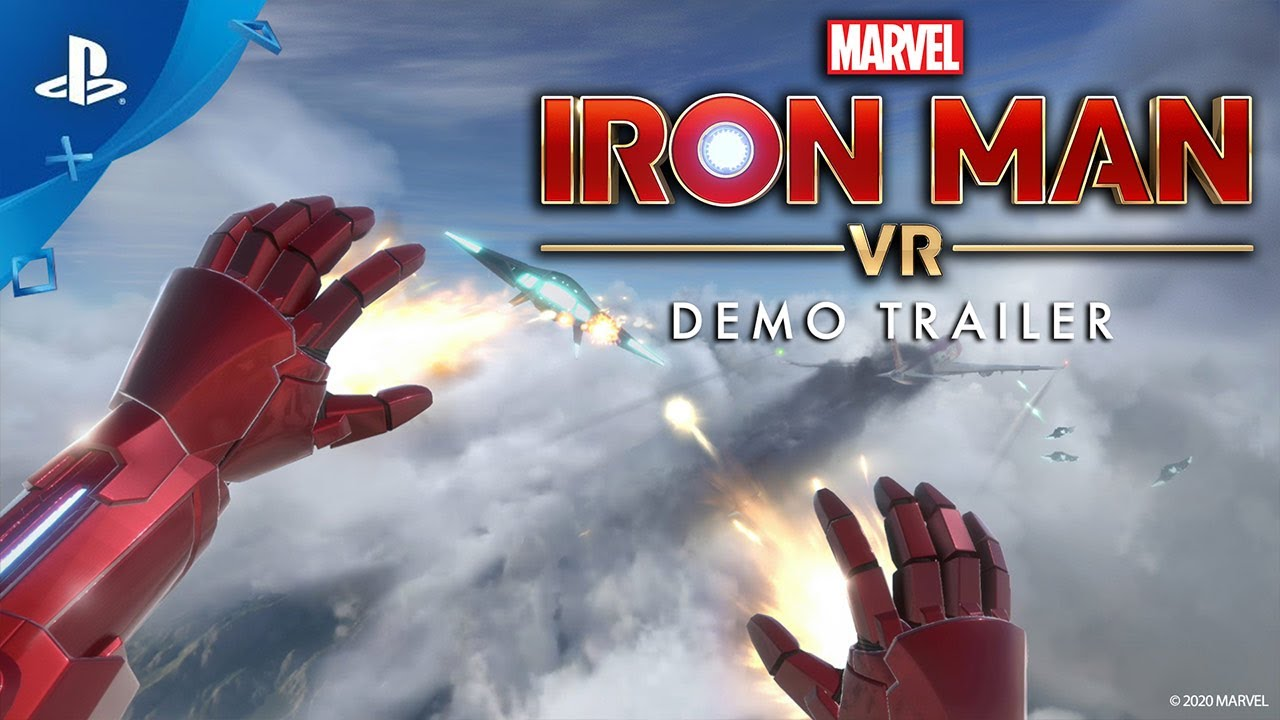Suit Up as the Armored Avenger with the PS VR Marvel's Iron Man VR Bundle, Plus Download a Free Demo Today