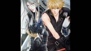 A SephirothXCloud Yaoi Tribute