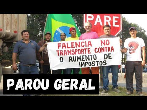 Por dentro da greve dos caminhoneiros na base da Petrobrás, em Barueri