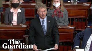 45 Republican senators vote to dismiss impeachment of Donald Trump