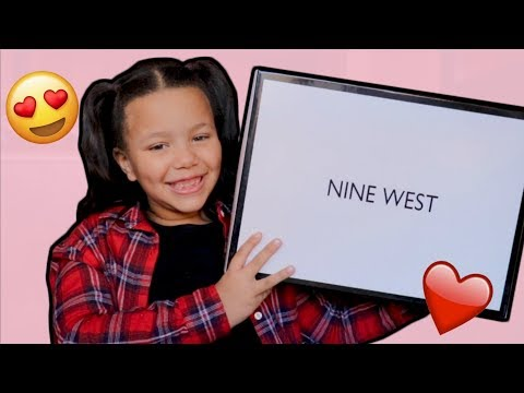 OPENING MY NEW GIFT FROM NINE WEST!| REVIEW & TRY ON