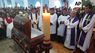 Funeral for priest murdered in Mexico