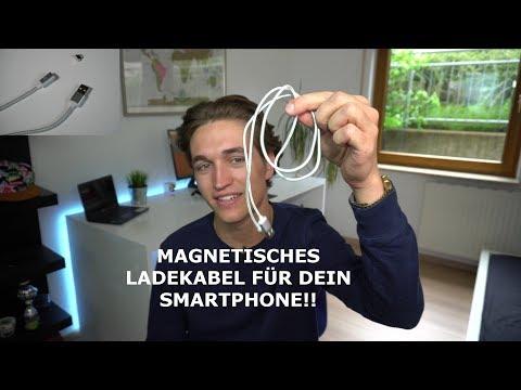 Magnetische Ladekabel für dein Smartphone! Praktisches Technik Gadget - Venix