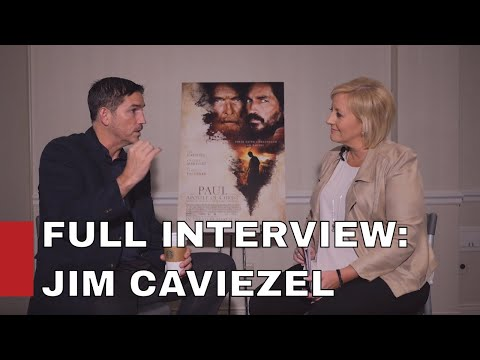 Web Exclusive Content with Jim Caviezel / FULL INTERVIEW
