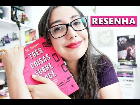 TRÊS COISAS SOBRE VOCÊ - @editoraarqueiro | Amiga da Leitora