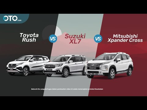 Toyota Rush vs Suzuki XL7 vs Mitsubishi Xpander Cross | LSUV Wars | OTO.com