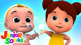 Brush Your Teeth Song | This is The Way Nursery Rhymes Kids Songs