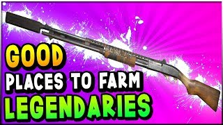 Fallout 76 - AMAZING Places To FARM LEGENDARY Weapons! (Fallout 76 Legendary Item Guide)