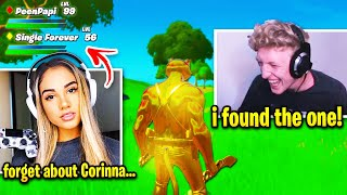 Tfue Goes UNDERCOVER to Find Girlfriend on Fortnite... this happens!
