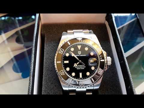 Pagani Design Submariner Review PD1639 Automatic Watch 43mm
