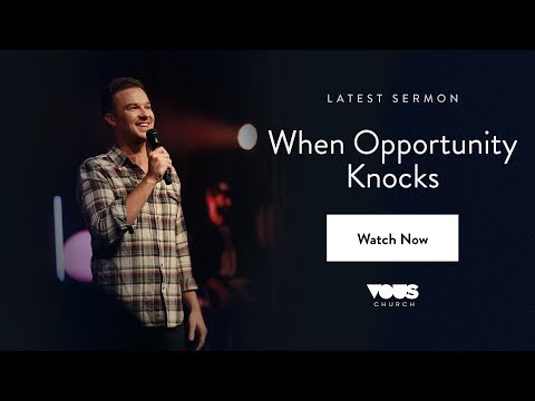 Rich Wilkerson Jr — Book Of Esther: When Opportunity Knocks